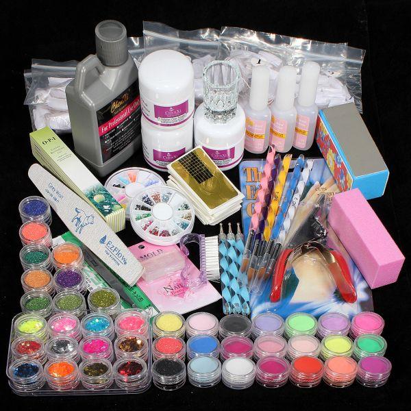Kit Profissional Unhas De Gel + Acessórios Nail Art #9